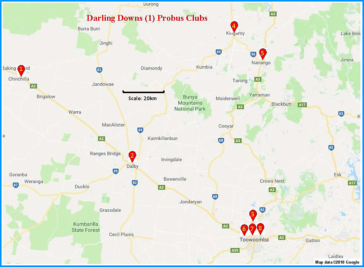 Darling Downs (1) Map