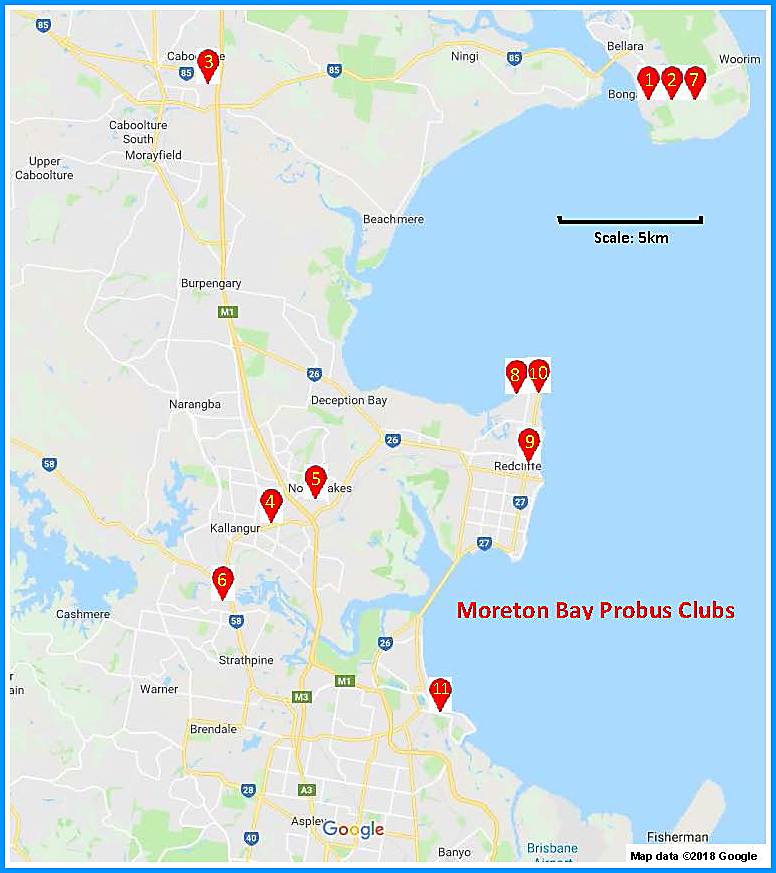 Moreton Bay Map