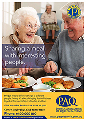 12 Probus Promo A4s Sharing a Meal 2 Small