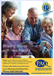 13 Probus Promo A4s Sharing Stories with friends Small