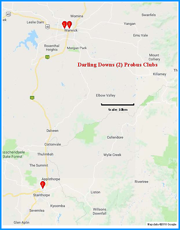 Darling Downs (2) Map
